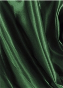 Hunter Green Crepe Back Satin Fabric