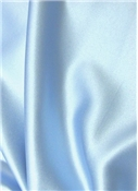 Light Blue Crepe Back Satin Fabric