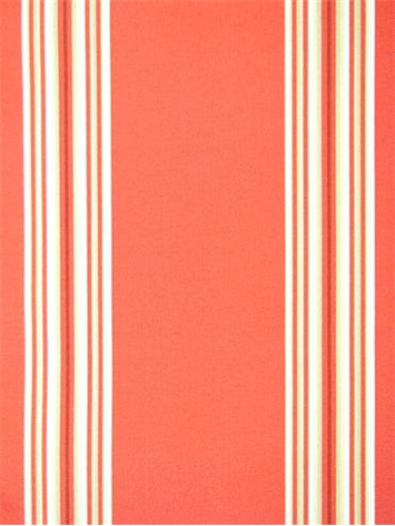 Od Cabana Stripe Coral Outdoor Fabric By The Yard