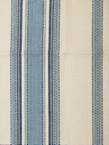 Canyon Stripe Blue Stripe Fabric By The Yard