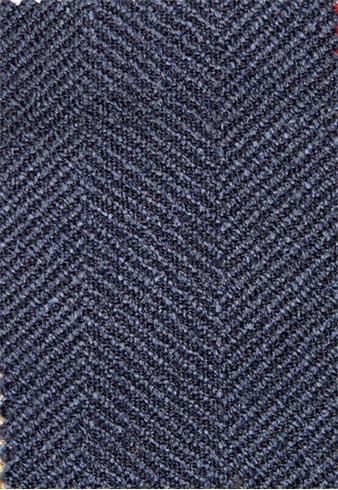 Jumper Indigo Chenille Fabric Soft Upholstery Fabric