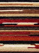 Vivid Cayenne Chenille Tapestry