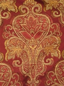 Clip Damask Red