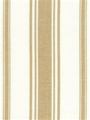 Coastal Stripe Tan Cotton Fabric