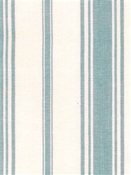Coastal Stripe Light Blue Cotton Fabric