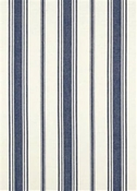 Coastal Stripe Navy Cotton Fabric
