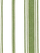 Coastal Stripe Olive Cotton Fabric
