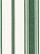 Coastal Stripe Pesto Cotton Fabric