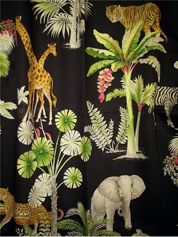 Congo C Ebony P Kaufmann Fabric