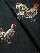 Rooster Yard Black