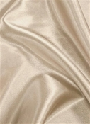 Cosmic Rays Ecru Satin Fabric