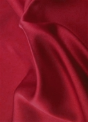 Cosmic Rays Ruby Satin Fabric