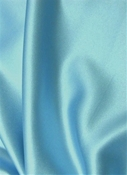 Cosmic Rays Robins Egg Satin Fabric