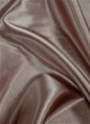 Cosmic Rays Taupe Satin Fabric