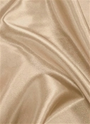 Cosmic Rays Beige Satin Fabric