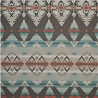 Crow Warrior Blanket Turqouise