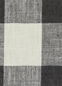 DM61278-698 Black/linen Plaid Duralee Fabric