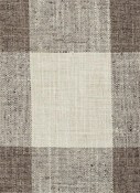 DM61278-70 Natural Brown Plaid Duralee Fabric