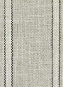 DM61282-698 Black/Linen Stripe Duralee Fabric