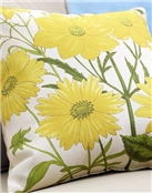 Dahlia Outdoor Pillow Pattern