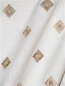 Derry 130 White Embroidery Fabric