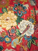 Dialiang Peony Floral Fabric