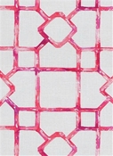 Dinah 354 Fruit Punch Lattice Fabric