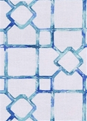 Dinah 548 Isle Waters Lattice Fabric