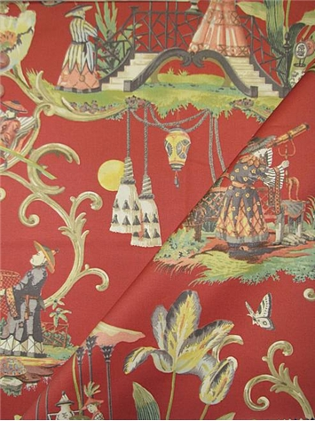 East Of The Moon Cinnabar Fabric By Style Fabric By