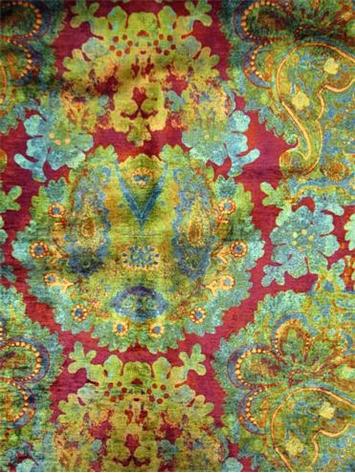 Enchantress Mulberry Poetic Wanderlust Drapery Fabric