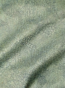 Etched Weave Patina Metallic Fabric