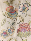 Fairfield Spring Jacobean Embroidery