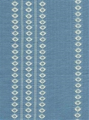 Finnish Stripe Powder Blue Cotton Jacquard