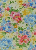 Fleurie 100 Multi Floral Fabric
