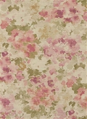 Fleurie 704 Dusty Rose Floral Fabric