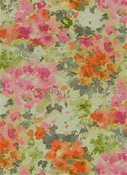 Fleurie 77 Peche Floral Fabric