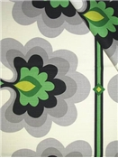 HGTV HOME FABRIC Flower Tower Malachite