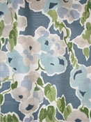 Fresh Bouquet Aquatint Floral Fabric