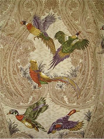 Game Birds Heritage P Kaufmann Fabric