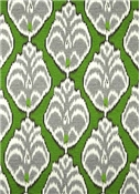 Duralee Simple Ikat Green