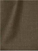 Gent Chocolate Linen Blend Fabric