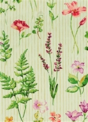 Giardini 168 Teastain Botanical Fabric