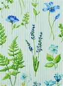 Giardini 50 Bluebell Botanical Fabric