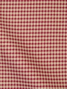 Gingham Check Brick Red