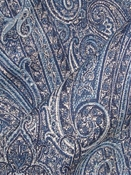 Hemingway Midnight Blue Tapestry Fabric