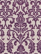 Hotel A Plum Chenille Tapestry