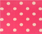 Ikat Dots Gumdrop Pink/Natural