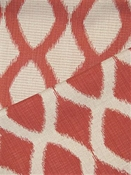 Ikat Style Coral