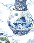 Imperial Garden China Blue Chinoiserie