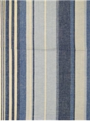 Island Stripe Blue Cream